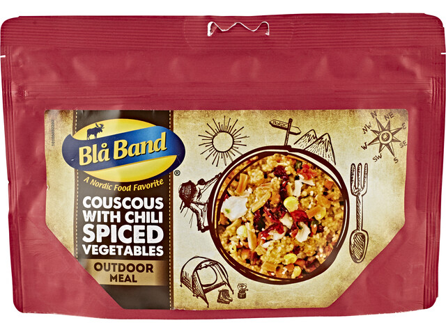 Bla Band Outdoor Mahlzeit Couscous with Chili Spiced Vegetables